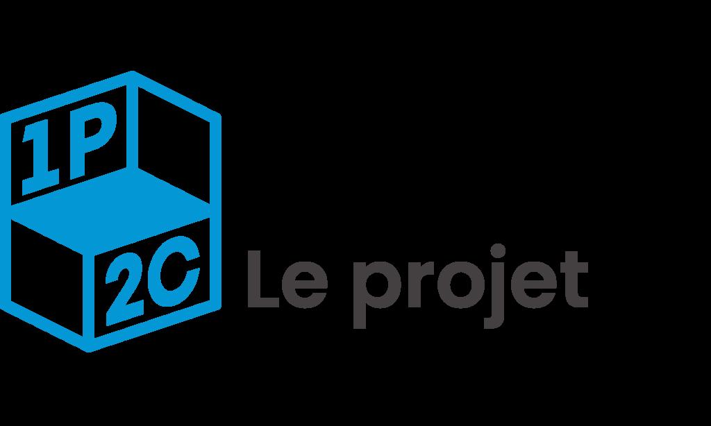 Logo du projet de gestion de l'agence 1P2C