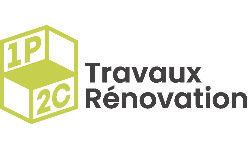 Logo de l'entreprise 1P2C de travaux et rénovation