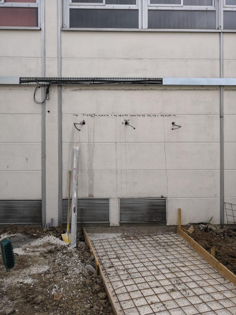 Création porte de garage